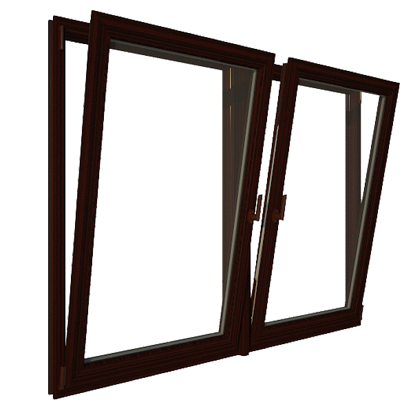 Eurowindows group 72 12 in x 60 in tilt and turn series 2 for 12 x 60 window