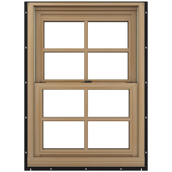Jeld wen 26 18 in x 60 34 in aluminum clad double pane new for 18 x 60 window