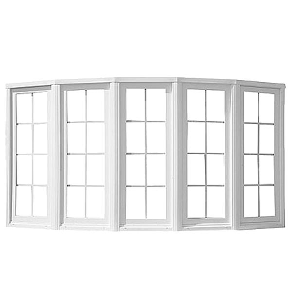 Jeld wen 6 ft 10 12 in x 6 ft 3 12 in v2500 series double for Double pane vinyl windows
