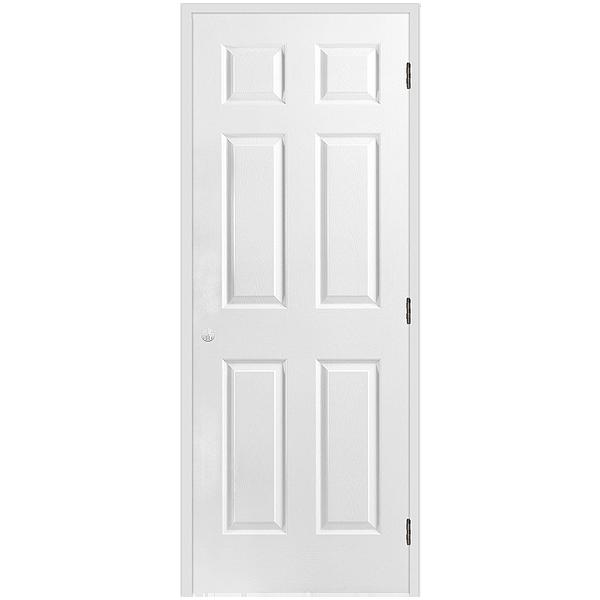 Sliding Panel Doors Interior Shop Reliabilt White 6 Panel Sliding Closet Interior Door Common